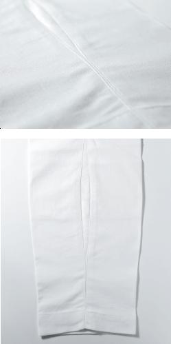 股引の縫い目